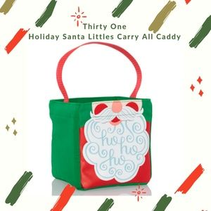 Thirty One Santa Beard Littles  Carry All Caddy